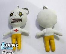 ตุ๊กตาผ้าเพนท์ลาย เป็นพวงกุญแจและที่ห้อยโทรศัพท์จ้า