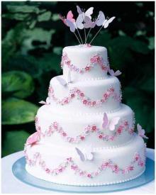 น่ากินสุดๆ Wedding Cake1