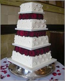 น่ากินสุดๆ Wedding Cake2