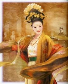 ภาพวาดสาวจีนโบราณ