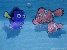 ปูกระเบื้องสระว่ายน้ำ มิติใหม่!!