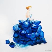 ศิลปะจากกลีบดอกไม้