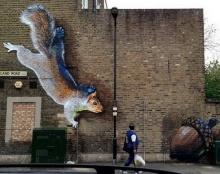 Graffiti ศิลปะพ่นสี บนวัสดุ หรือบนกำแพง