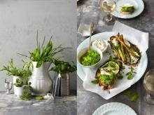ตกแต่งอาหารให้น่ากิน ด้วย ศิลปะ จากผักใบเขียว