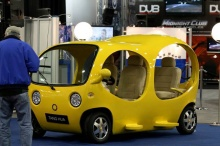 Cute Yellow Car