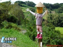 หุ่นไล่กา ของญี่ปุ่น