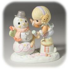 น่ารักๆ จ้า ! ตุ๊กตาคุณ snow man