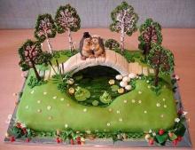 Wedding cake idea.