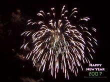 Happy New Year 2007 สุขสันต์วันปีใหม่ 2550