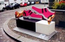 @ Artistic Street Bench @ (1)