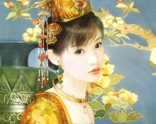 ภาพวาด... สาวจีน