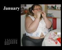 ปฎิทิน 12 เดือนปี 2009 สำหรับคนชอบ Fastfood