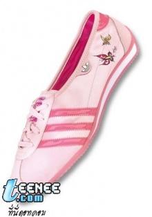 รองเท้าลายน่ารัก น่ารัก