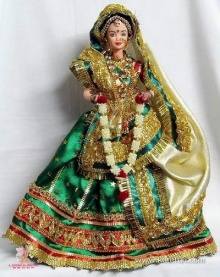 Barbie แต่งอินเดีย