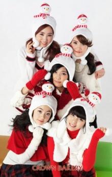 Wonder Girls ถ่ายโปสเตอร์ Crown Bakery น่ารักๆ