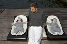 Ricky Martin & his twins