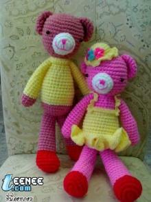 ตุ๊กตาไหมพรมน่ารัก # 2 จ้า