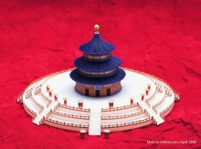 Paper models of world famous buildings (1)
