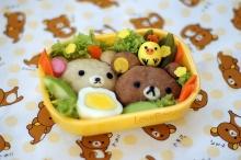 ข้าวกล่อง หมี rilakkuma น่ารักจนกินไม่ลงเลยอ่ะ!!