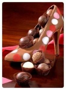 รองเท้าช็อคโกแลต น่าทานมาก!
