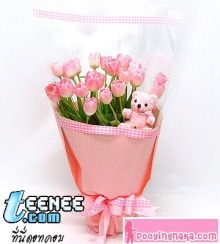 ช่อดอกไม้สวยมากเลย