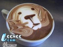 แต่งหน้า กาแฟ