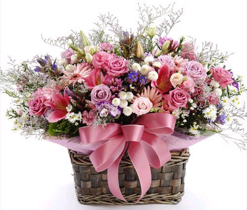 กระเช้าดอกไม้