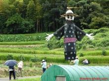 หุ่นไล่กาญี่ปุ่น น่ารักดี... (2)
