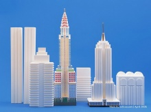 Paper models of world famous buildings (2)