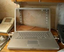 จอคอมพิวเตอร์ เวอร์ชั่นโปร่งแสง