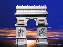 Paper models of world famous buildings (3)