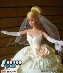 เค้กตุ๊กตาบาร์บี้จ๊า>.,<