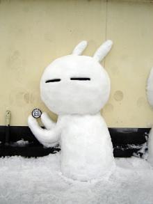 กระต่ายกวนๆ ในเวอร์ชั่นหิมะ