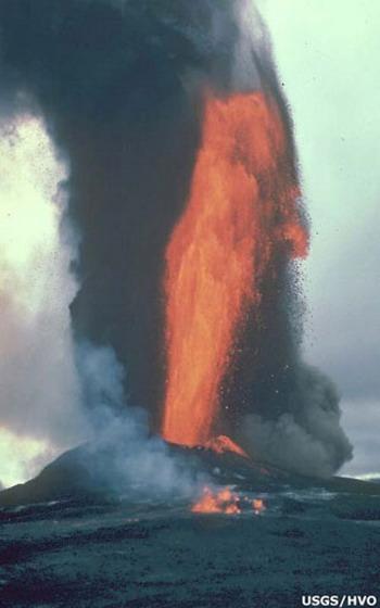 ซูมกันจะจะ ภูเขาไฟระเบิด