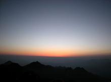 พระอาทิตย์ขึ้นยามเช้า สดชื่นจัง...