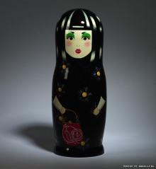 Designer Matryoshka in honor of 10 anniversary of Vogue Russ 2