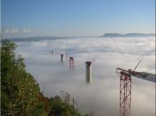 สะพาน The Millau ของฝรั่งเศส.... สะพานที่สูงกว่าหอไอเฟล