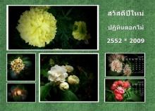 ปฏิทินดอกไม้ พันธุ์ไม้หอม ปี 2009