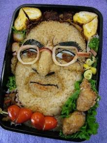 ศิลปะบนอาหาร เห็นแล้วหิว >,<