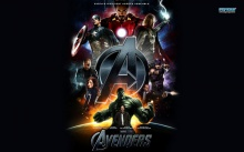 The Avengers wall