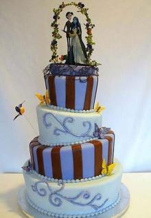 เค้กแต่งงาน ดีไซน์ ไฮโซ!