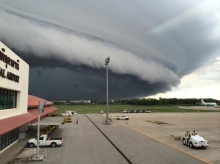 ตะลึง แชร์เต็มโลก Social เมฆชนกัน หรือ เมฆอาร์คัส ที่สนามบินอุดร
