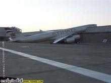 Aircraft out of run-way