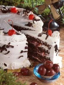 Chocolate Cakes & Fresh Cream