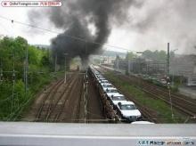 ~ ขนส่งรถยนต์ทางรถไฟ แต่... ~