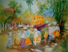 BALI in PAINTING ART