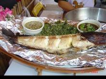 อาหารจากปลา...แม่ลาปลาเผา