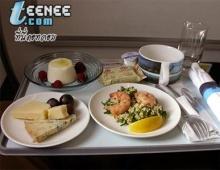 น้ำลายไหล!  อาหารบนเครื่องบินสายการบินต่างๆ