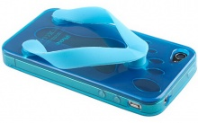 """iPhone 4 Slippers Case"""