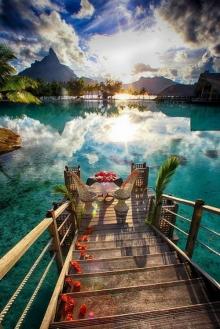 เกาะโบราโบร่า ทะเลสวรรค์ที่สวยที่สุดในโลก